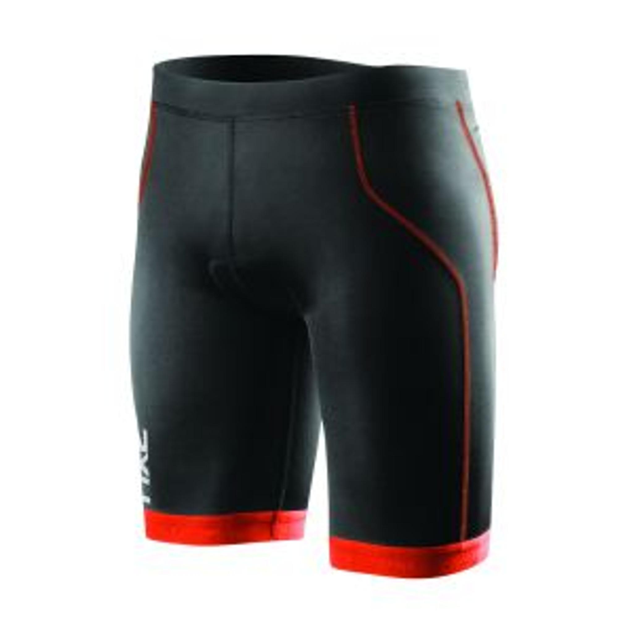 2XU Active Mens Tri Singlet Black Triathlon Vest Cycling Swim Running