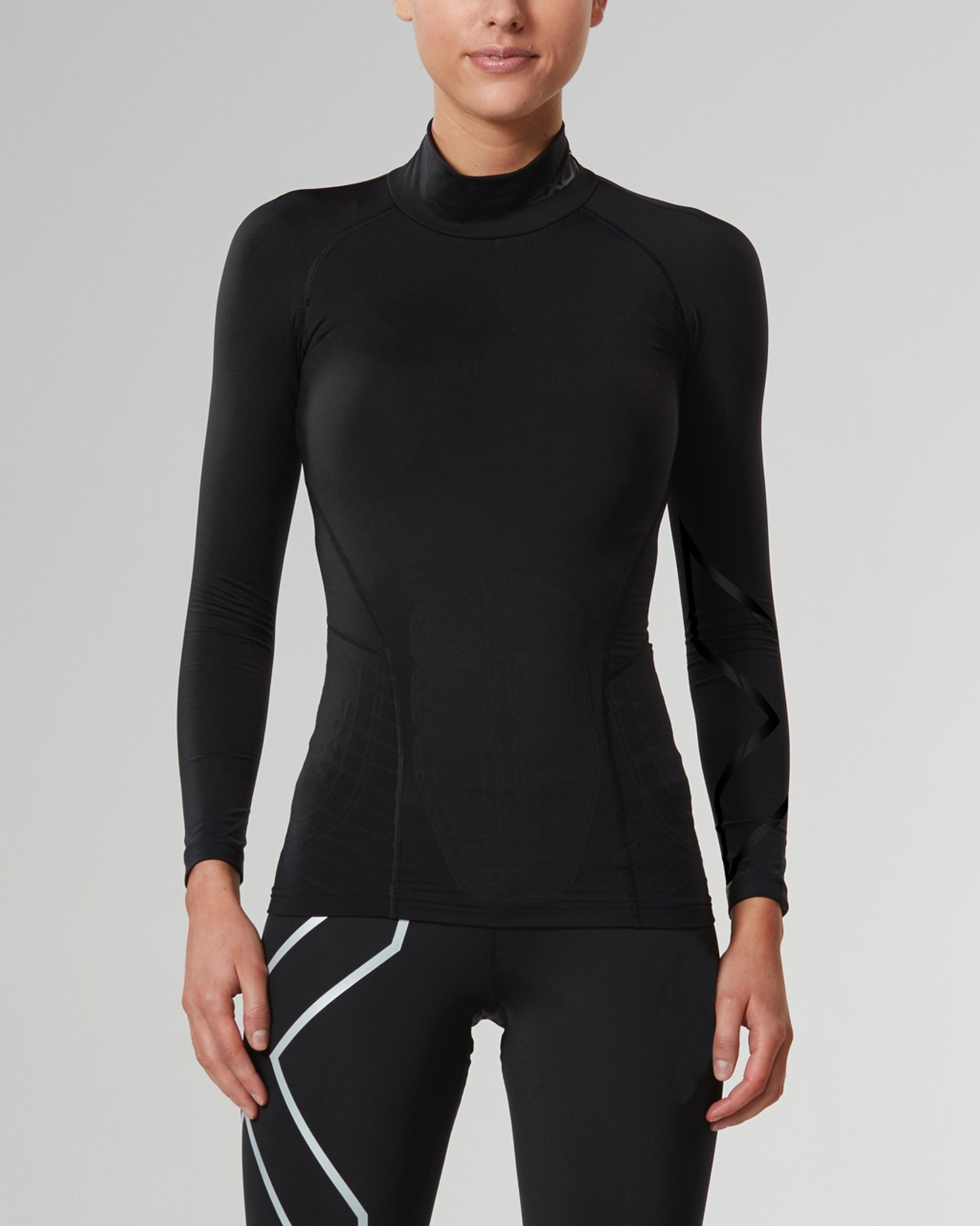 ccaf9ef92e ... 2XU - Women's Alpine MCS Thermal Compression Top - AW17 · Black/Gold.  Black/Nero