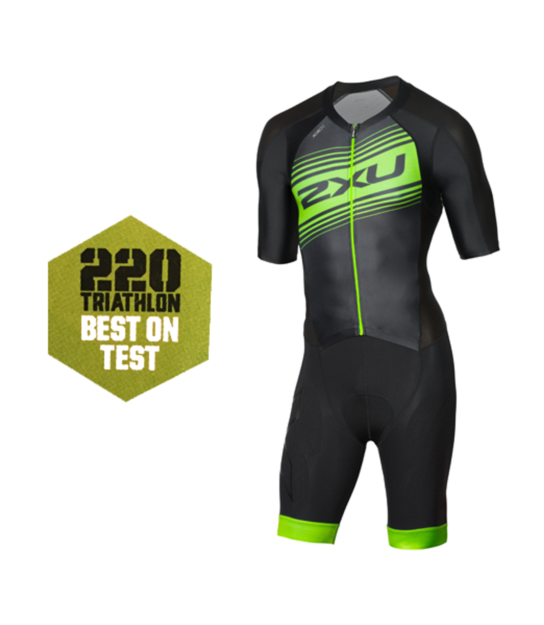 4a463d149 2XU Compression Full Zip Sleeved Trisuit 2018 - MyTriathlon