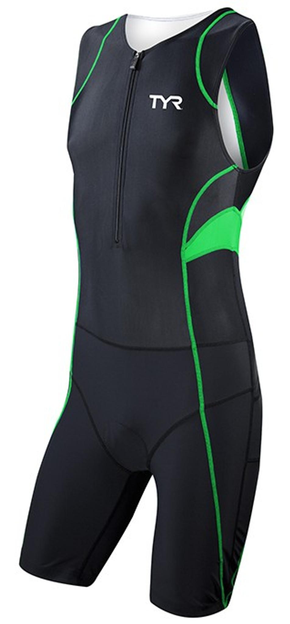 9dd65a6752 MyTriathlon - TYR Mens Carbon Zipper Back Short John with Pad
