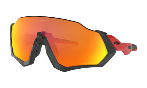 Oakley - Flight Jacket - Redline with Prizm Ruby Polarized