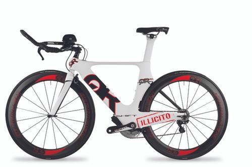 Quintana Roo - Shift Series - Illicito Ultegra Di2 - Triathlon Bike - Profile T3 Aerobars - ISM Adamo Saddle - Reynolds Race Wheels - Size Medium