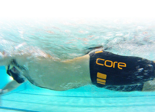 Core Shorts in the Pool