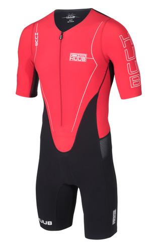 HUUB - Dave Scott Long Course Suit - Red