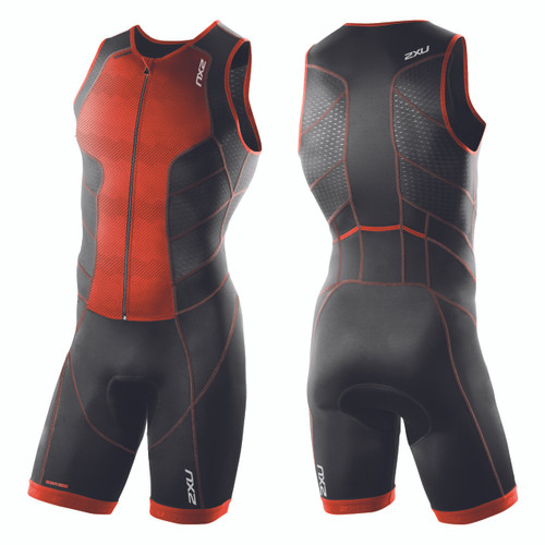 2XU - Men's Perform Full Front Zip Trisuit - Size S and XL Only