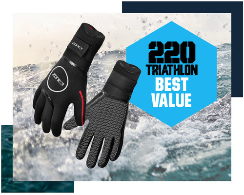 Zone3 - 2021 - Neoprene Heat-Tech Swim Gloves