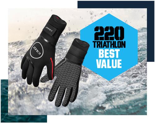 Zone3 - 2021 - Neoprene Heat-Tech Swim Gloves