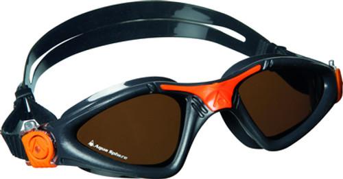 Aqua Sphere - Kayenne Goggle - Black/Orange Polarised Lens