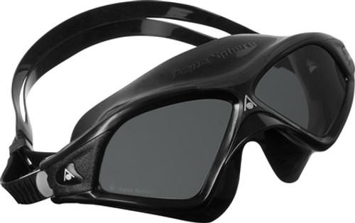 35921f842dde Aqua Sphere - Seal XP2 Goggles - Smoke Lens - Black  Black
