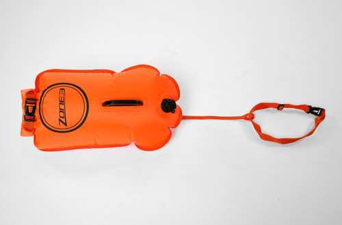 Zone3 - 2021 - Swim Safety Buoy & Dry Bag 28L - Orange or Pink