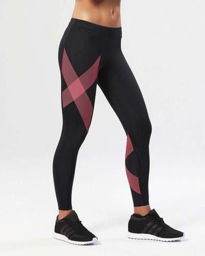 Black/Striped Pink Glow