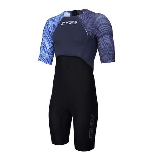 Zone3 - 2020 - WTC Legal Short Sleeve Swim Skin - Kona Edition - Men's
