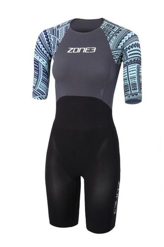 Zone3 - 2020 - Women's WTC Legal  Short Sleeve Swim Skin - Kona Edition