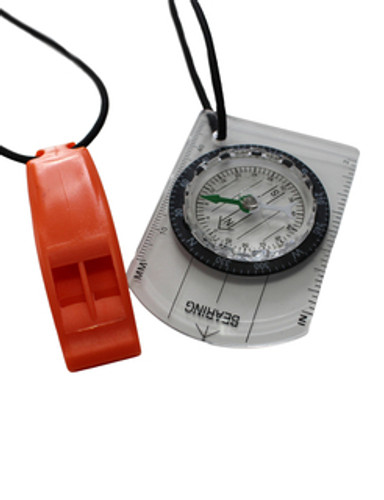 Zone3 - 2021 - Swim-Run Compass & Whistle Bungee Combo