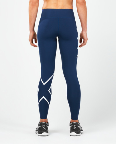 2XU - Women's Bonded Mid-Rise Compression Tights -