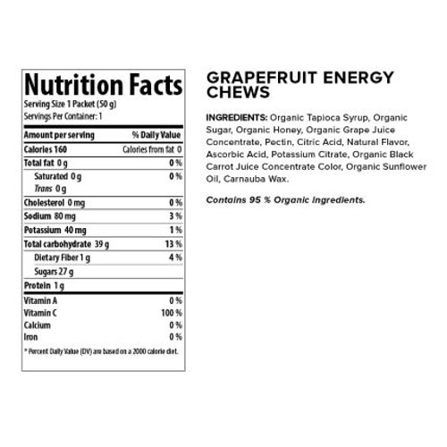 Honey Stinger Energy Chews (12 x 50g)