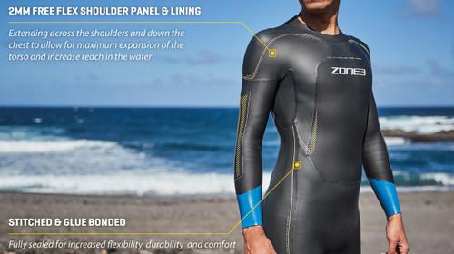 Zone3 - Vision Wetsuit - Men's - Ex-Rental 2 Hire