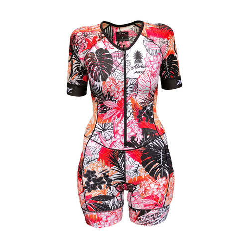 Zoot - LTD Tri Aero Short Sleeve Race Suit - Ali'i - Women's