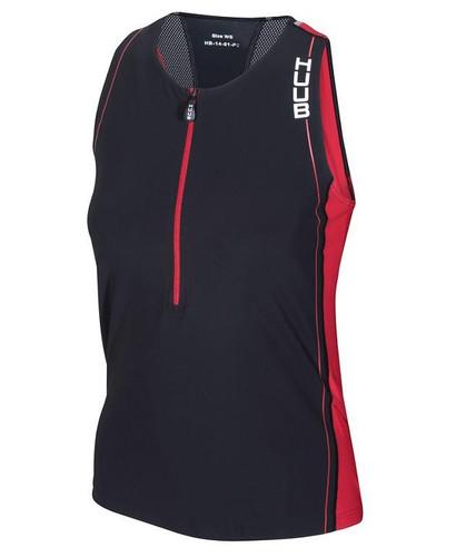 HUUB - Women's Core Tri Top - Black/Red