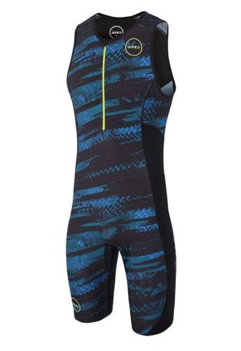 Zone3 - Activate Plus Stealth Speed Camo Full Print Trisuit - Men's - *