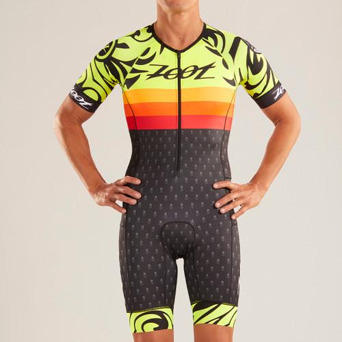 Zoot - LTD Tri Aero Short Sleeve Race Suit - Ali'i - * - Men's