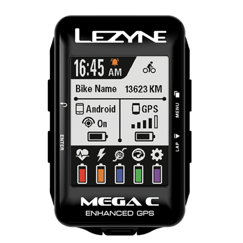 Lezyne - Mega C GPS - Black