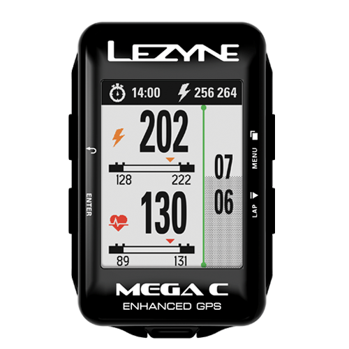 Lezyne - Mega C GPS - Loaded - Black