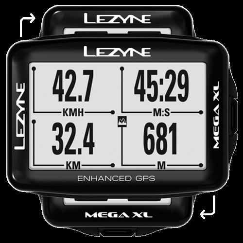 Lezyne - Mega XL GPS - Black