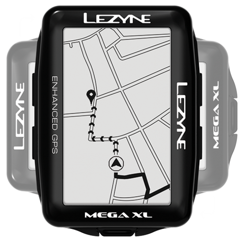 Lezyne - Mega XL GPS - Loaded - Black