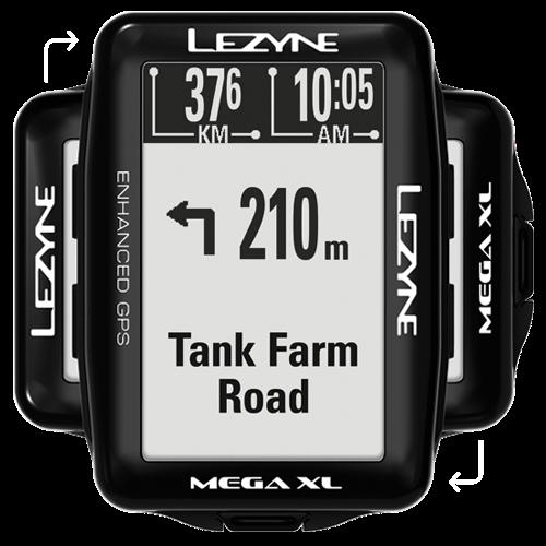 Lezyne - Mega XL GPS Smart Loaded - Black