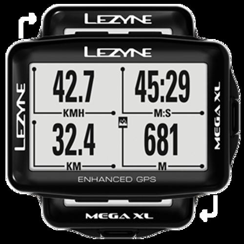 Lezyne - MEGA XL GPS SE - PEARL WHITE