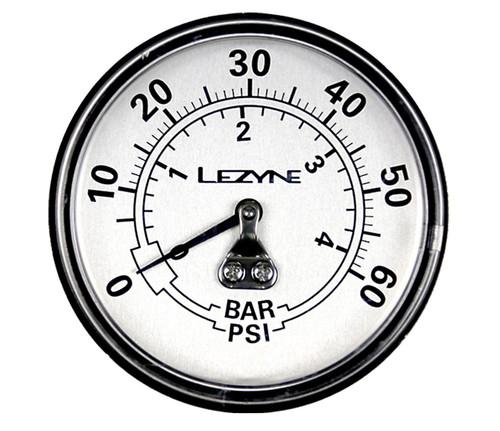 Lezyne - 60 PSI Gauge 2.5