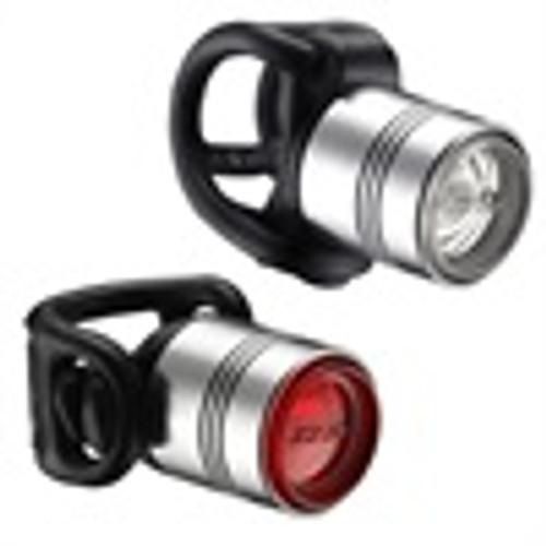 Lezyne - LED - Femto Drive Pair - Silver/Silver