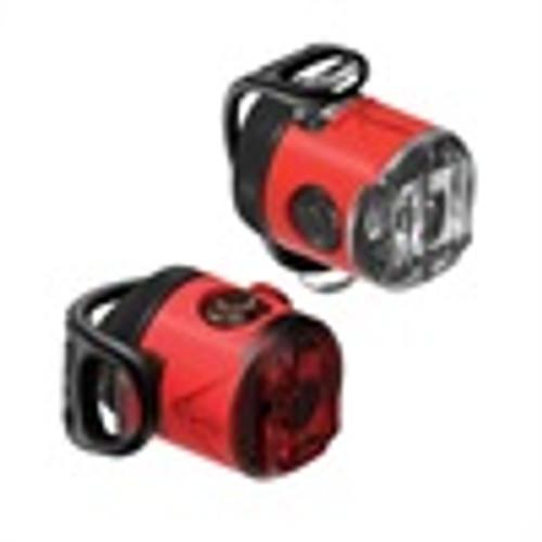 Lezyne - LED Femto USB Drive Front - Red