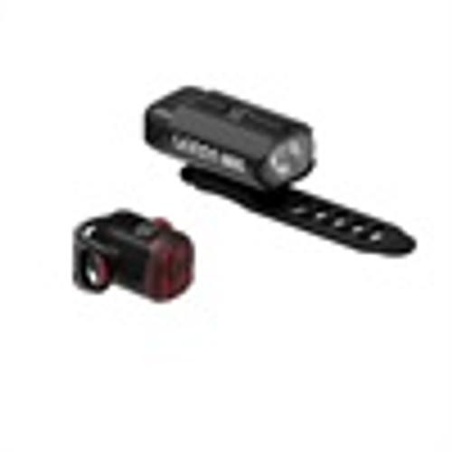 Lezyne - Hecto Drive 500XL / Femto USB Pair - Black / Black