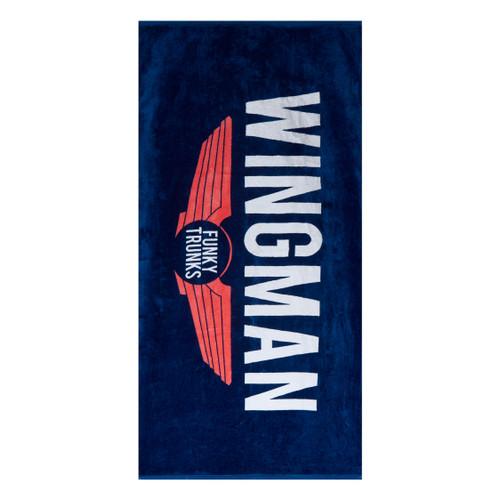 Funky Trunks - Towel - Navy Wingman