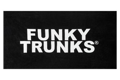 Funky Trunks - Towel - Still Black