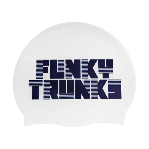 Funky Trunks - Silicone Swimming Cap - Space Cadet