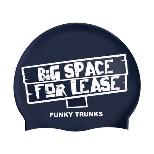 Funky Trunks - Silicone Swimming Cap - Space for Lease