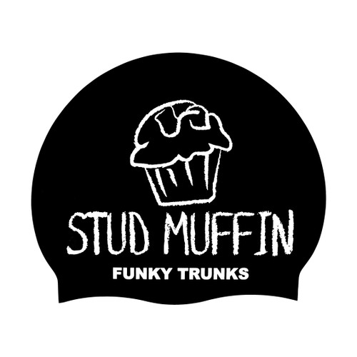 Funky Trunks - Silicone Swimming Cap - Stud Muffin