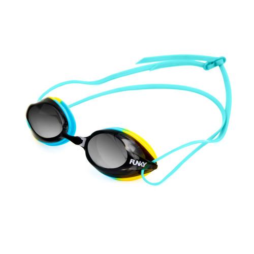 Funky Goggles - Training Machine Goggles - Whirlpool Mirrored