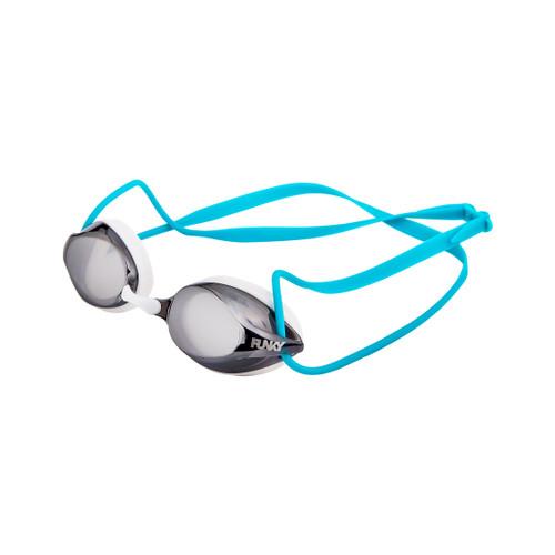Funky Trunks - Training Machine Goggles - White Wash Mirrored