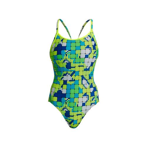 Funkita - Glow Rider - Women's Diamond Back Swimsuit