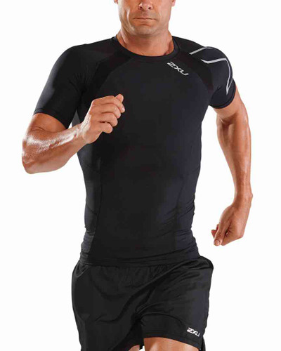 2XU - Compression Short Sleeve Top - Men's