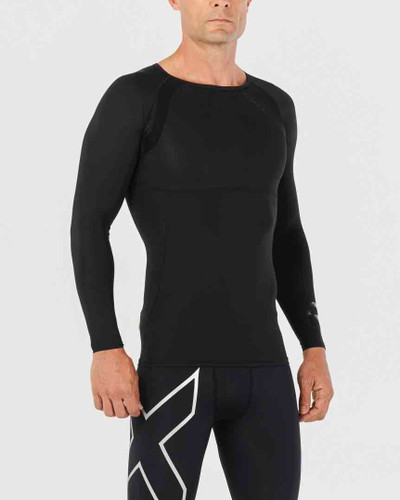 2XU - Refresh Recovery Compression Long Sleeve Top - Men's