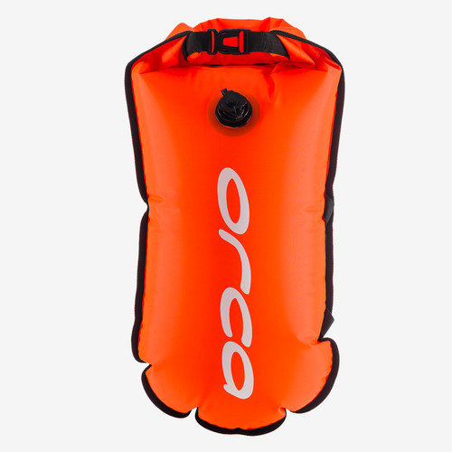 Orca - 2021 - Safety Buoy (Hydration Pouch) - High Vis Orange