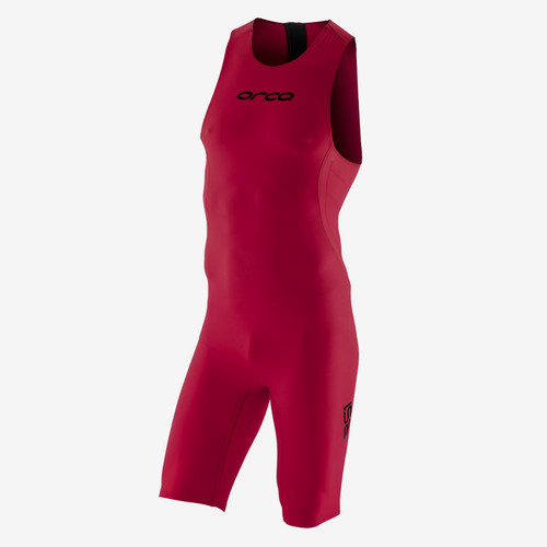 Orca - 2021 - RS1 Swimskin - Men's - GARNET