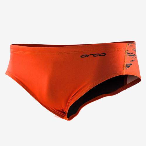 Orca - 2020 - Brief - Men's - High Vis Orange