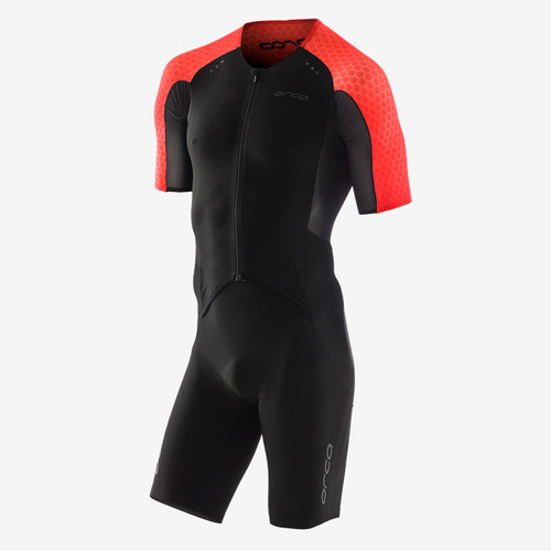 Orca - 2021 - RS1 Kona Aero Race Suit - Men's - Black red