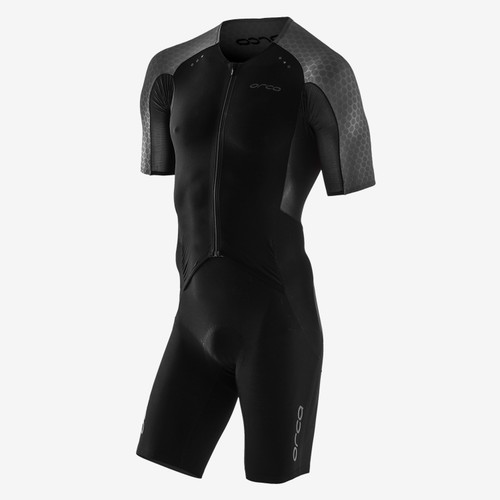 Orca - 2021 - RS1 Kona Aero Race Suit - Men's - Black Silver